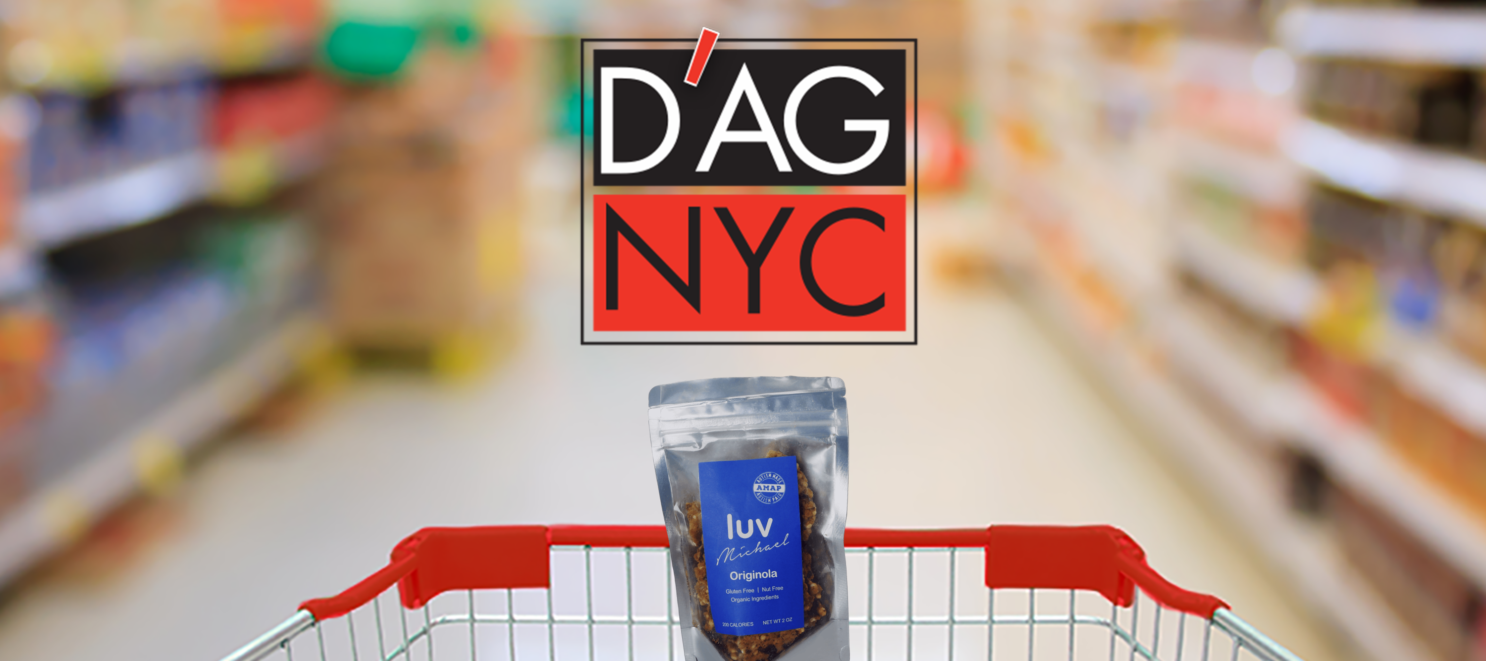 Luv Michael Now Being Sold In All New York D'Agostino Supermarkets