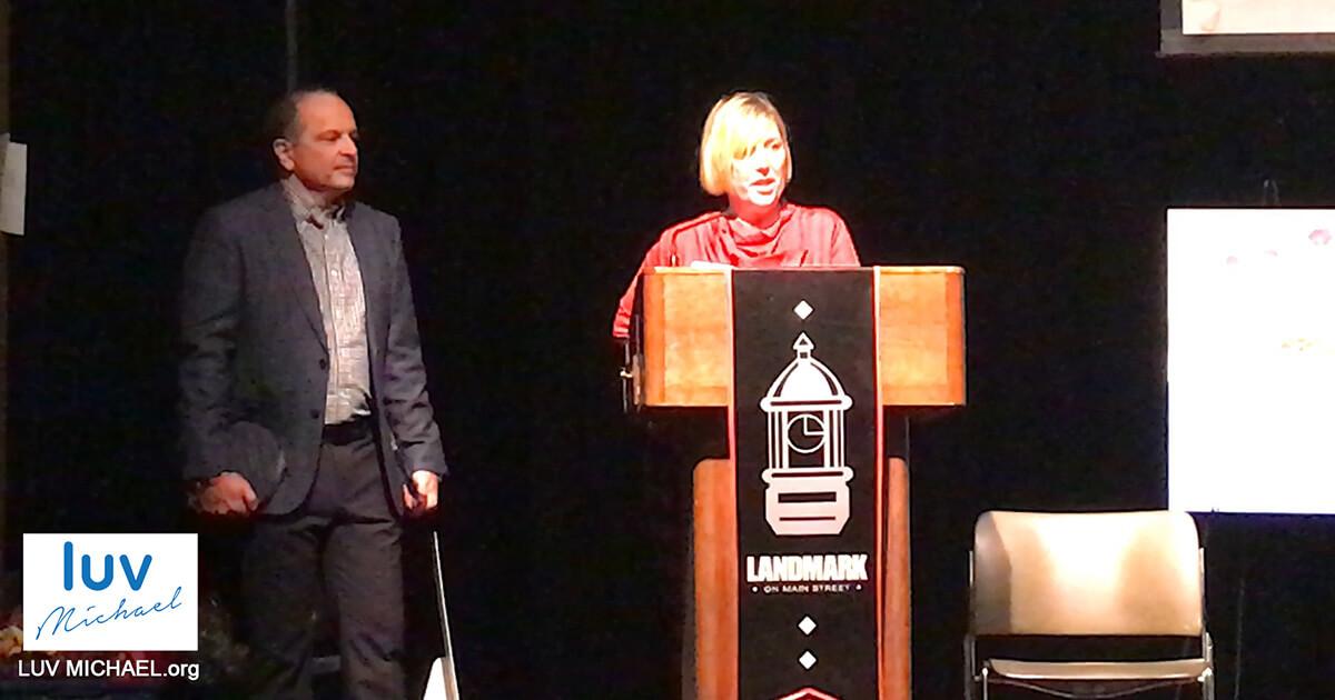 LUV Michael Founders Dr. Lisa Liberatore And Dr. Dimitri Kessaris Honored By NSASA
