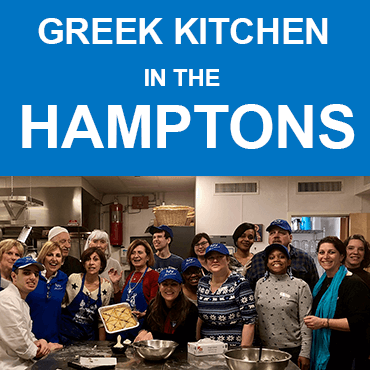 Luv Michael And East End Disability Association Produce Greek Delights At Hamptons Church