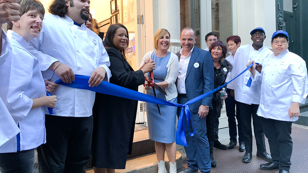 Luv Michael And Friends Cut Ribbon On New Tribeca NYC Headquarters, Expanding Autism-to-Work Program