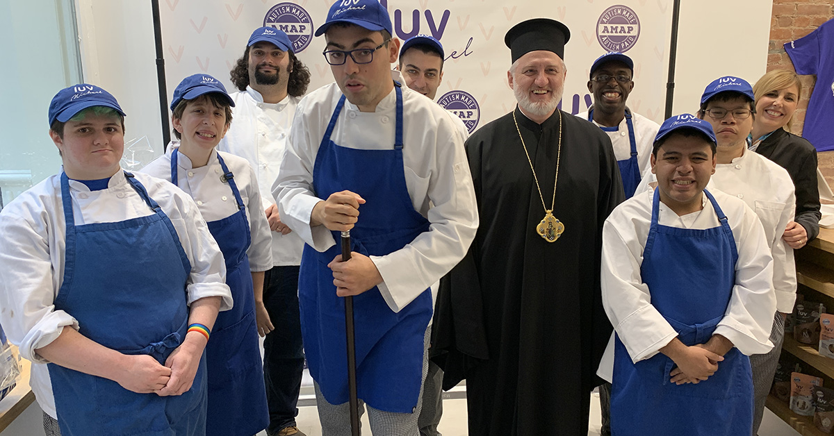 We Are Blessed: Greek Orthodox Archbishop Of The Americas Visits Luv Michael