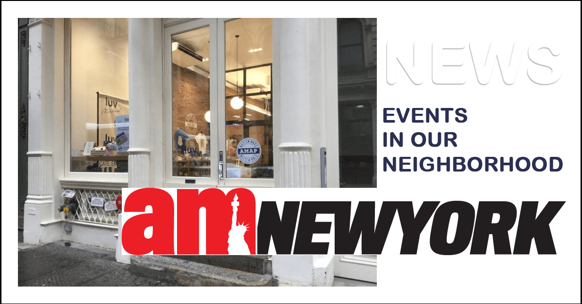 AMNY: Manhattan Nonprofit Celebrates Autistic 'granologists' With Book Release And Pop-up Shop